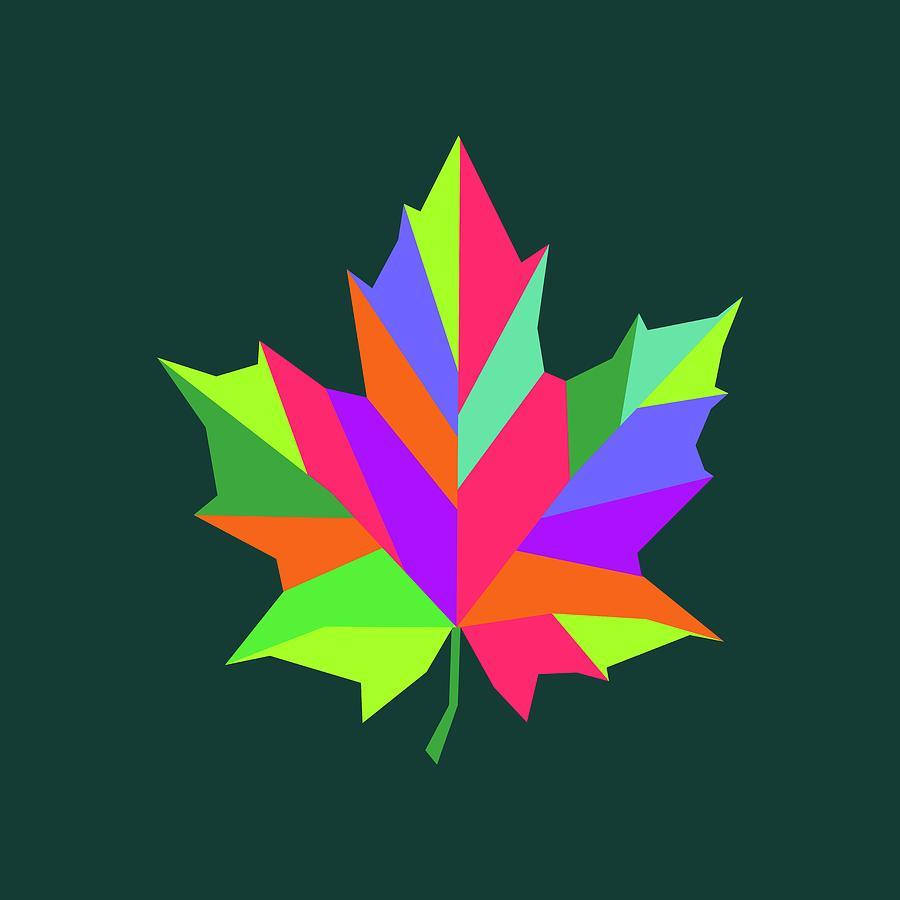 Coloful Leaf 003 Digital Art