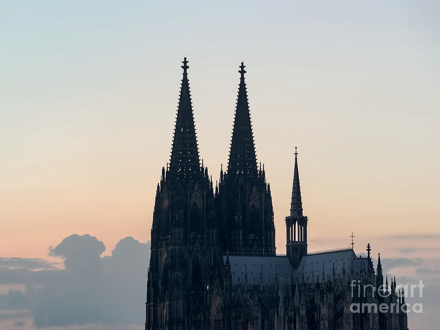 Architecture Photograph - Cologne 04 by Tom Uhlenberg