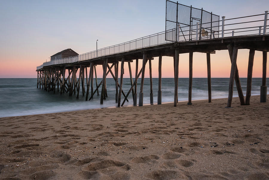 Belmar Photograph - Color On The Horizon by Kristopher Schoenleber