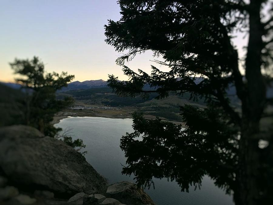 Colorado at Dusk by Kristina Deane