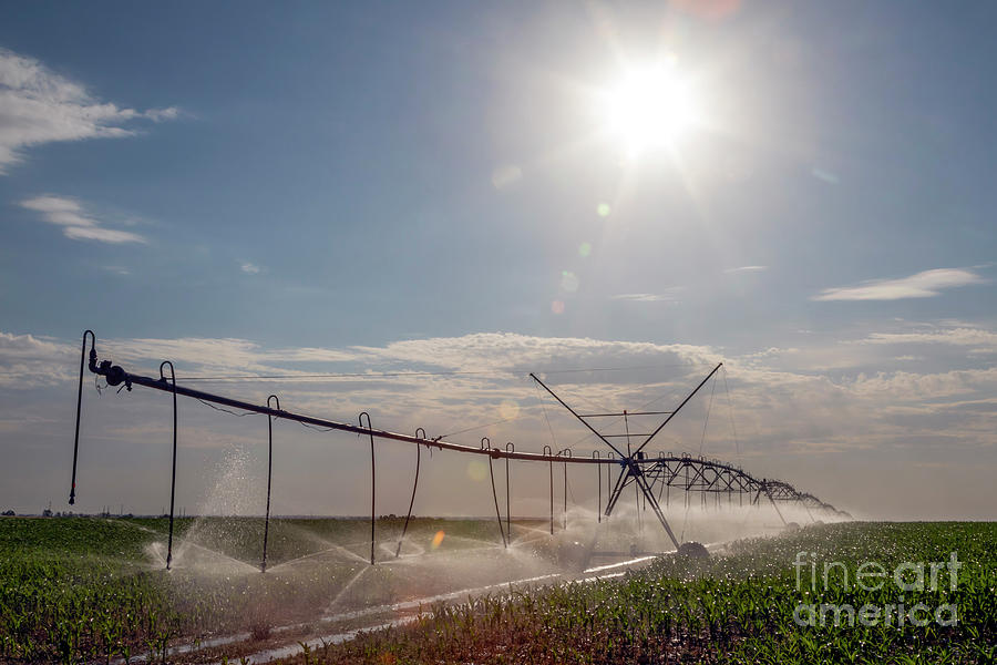 Colorado Irrigation Photograph