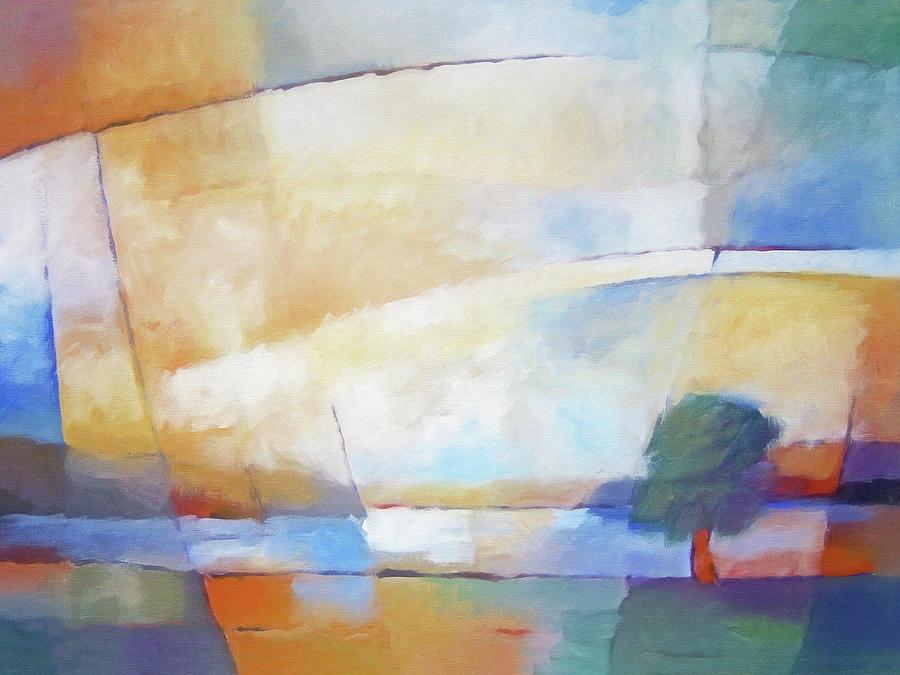 Colorburst Landscape by Lutz Baar