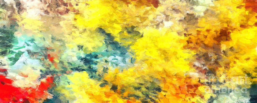 Complex Painting - Colorful Abstract Art Colors 2 by Stefano Senise