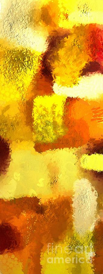 Gold Painting - Colorful abstract gold art colors 2 by Stefano Senise