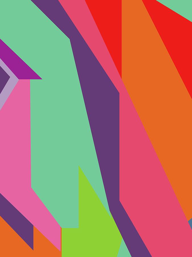 Colorful Abstract Pop Art 0106 Digital Art
