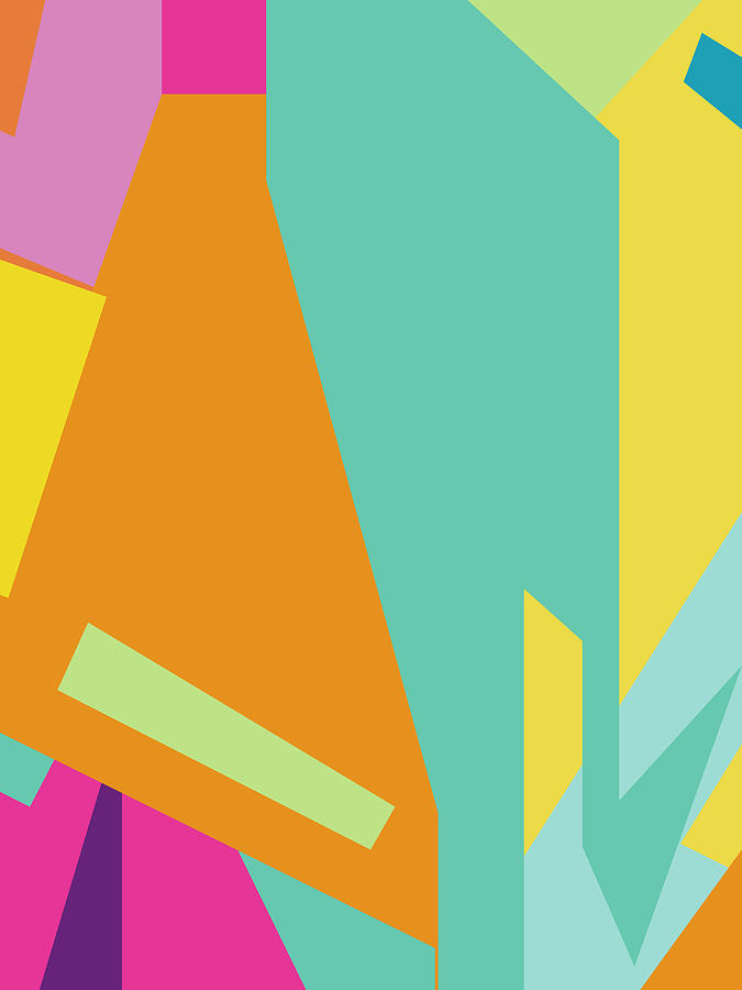Colorful Abstract Pop Art 0125 Digital Art
