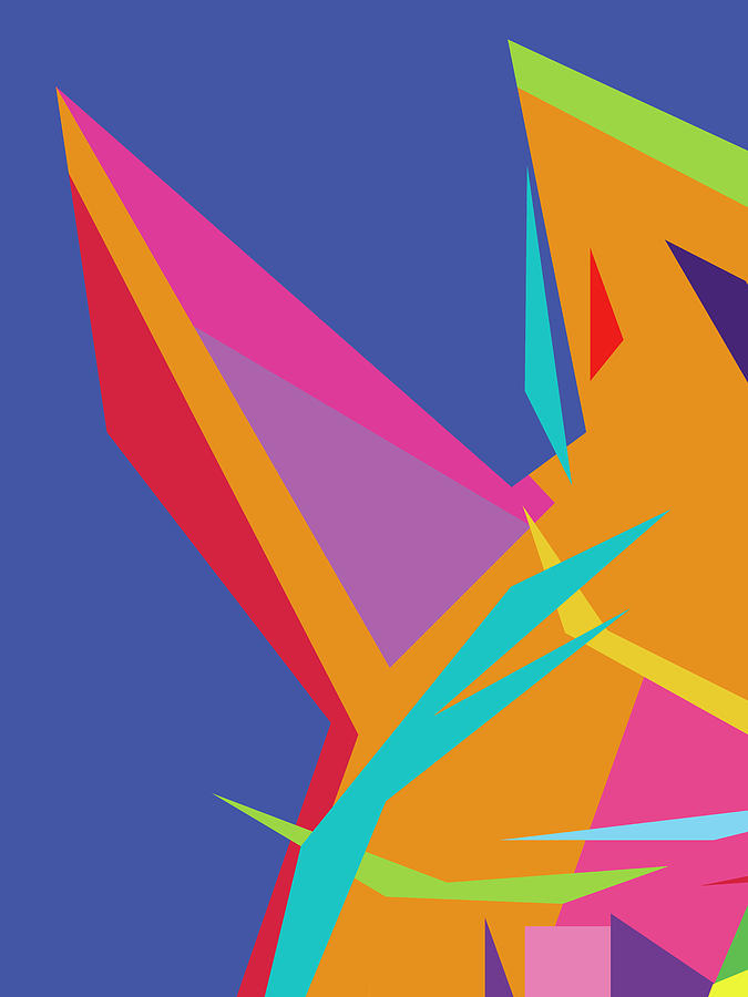 Colorful Abstract Pop Art 0131 Digital Art