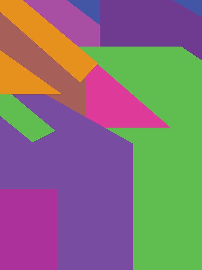Colorful Abstract Pop Art 0134 Digital Art