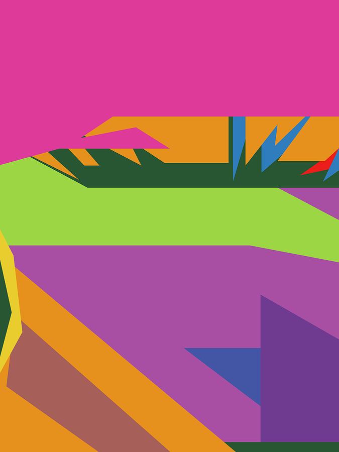 Colorful Abstract Pop Art 0135 Digital Art