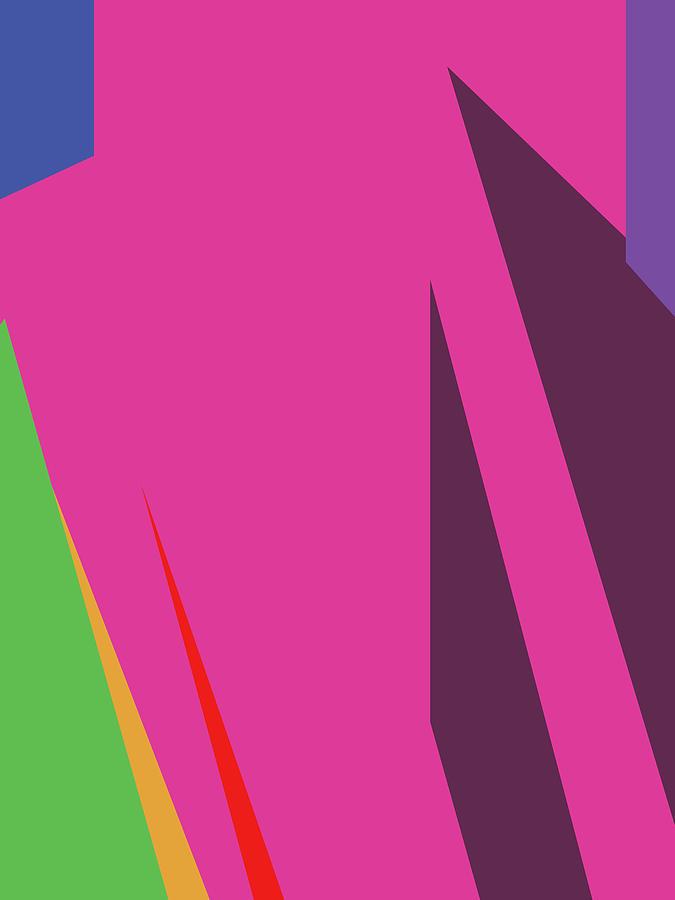 Colorful Abstract Pop Art 0136 Digital Art