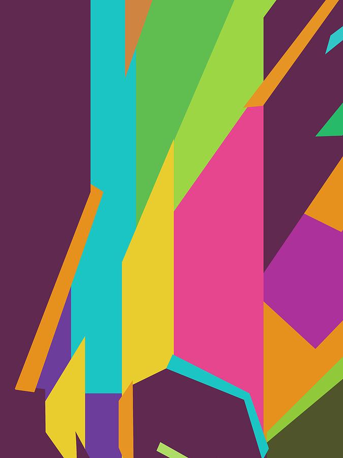 Colorful Abstract Pop Art 0138 Digital Art