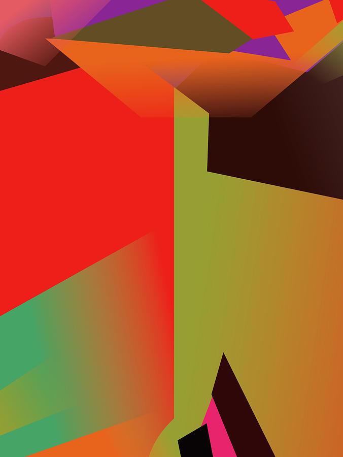 Colorful Abstract Pop Art 0173 Digital Art
