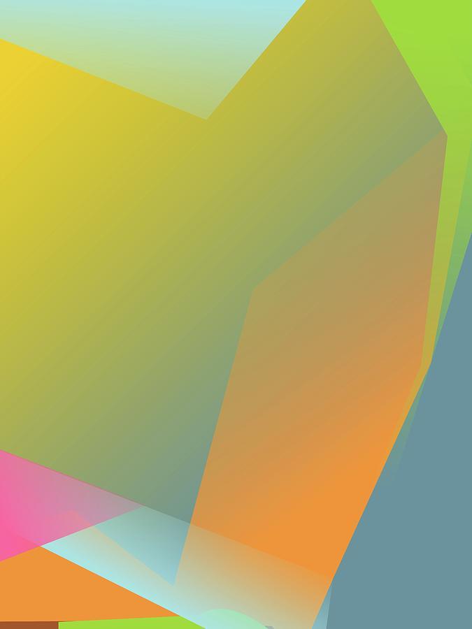 Colorful Abstract Pop Art 0176 Digital Art