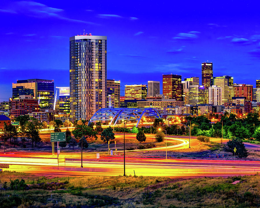 Colorful Colorado - Downtown Denver Photograph