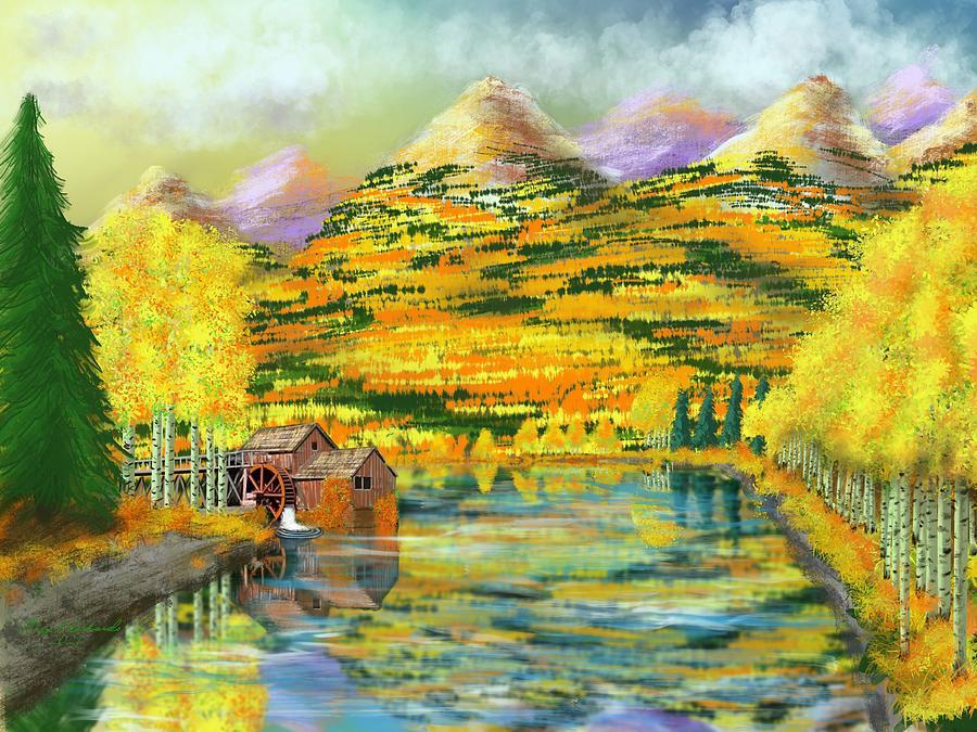 Colorful Colorado Digital Art