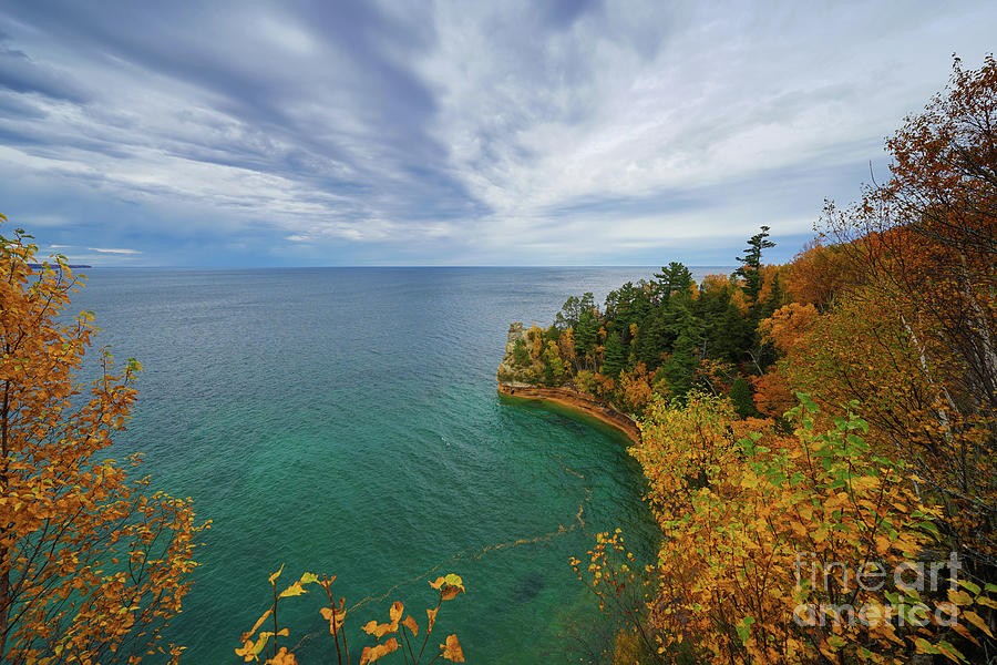 Colorful Days At Miners Castle Photograph