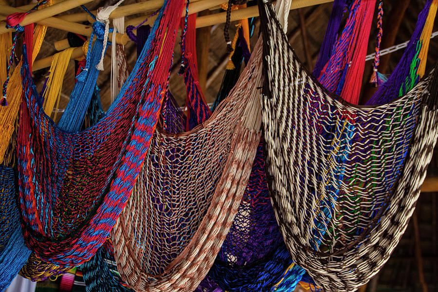 Colorful Hammocks by Patti Deters