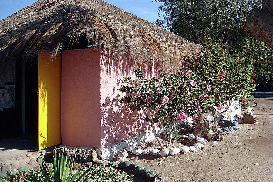 Colorful Home, Arica, Chili Photograph by Karen Zuk Rosenblatt