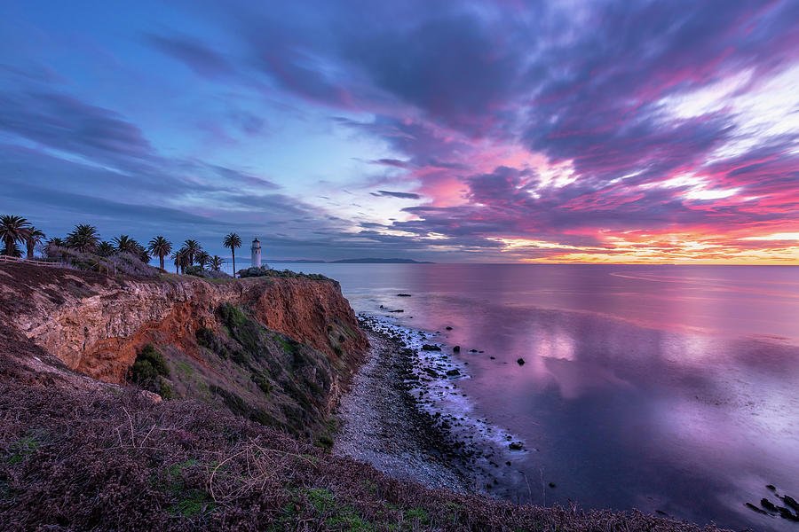 Colorful Point Vicente after Sunset by Andy Konieczny