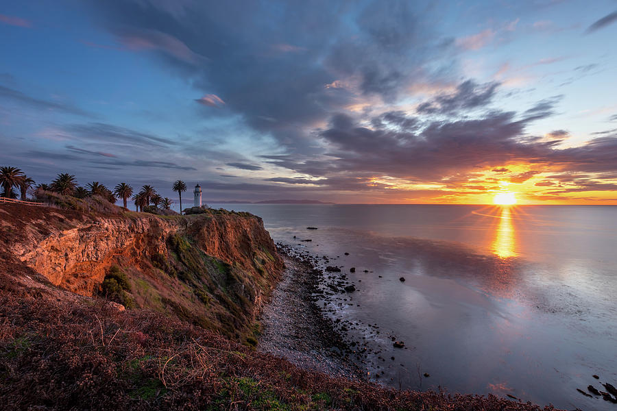 Colorful Point Vicente at Sunset by Andy Konieczny