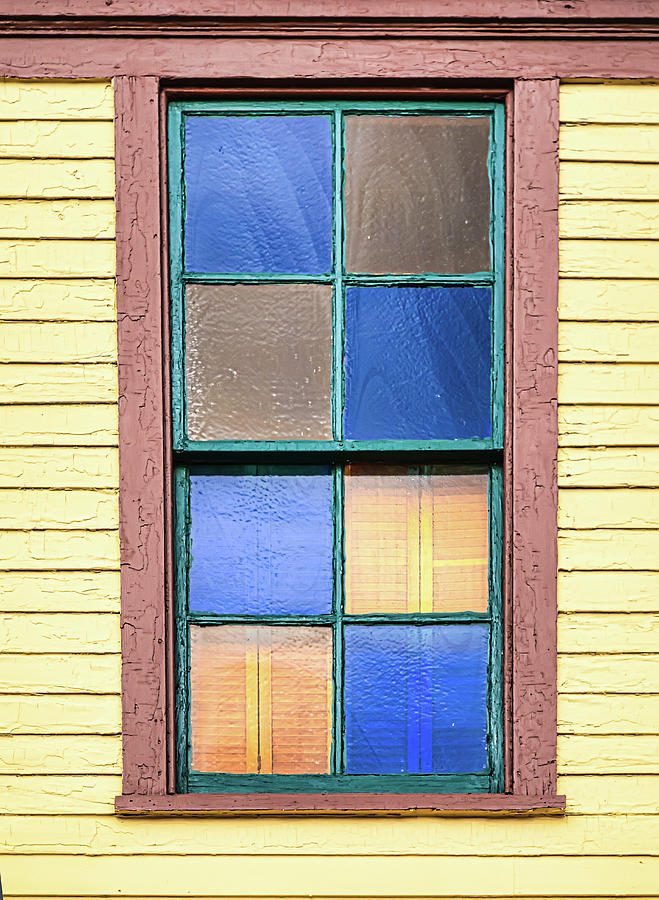 Colorful Window Panes by Gary Slawsky