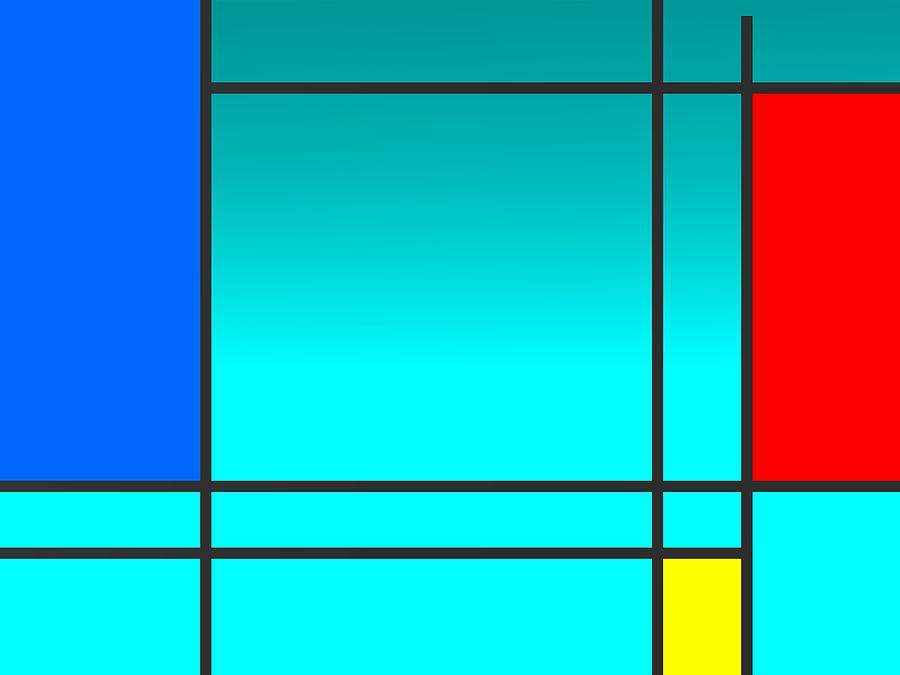 Colorist Geometric Art Digital Art