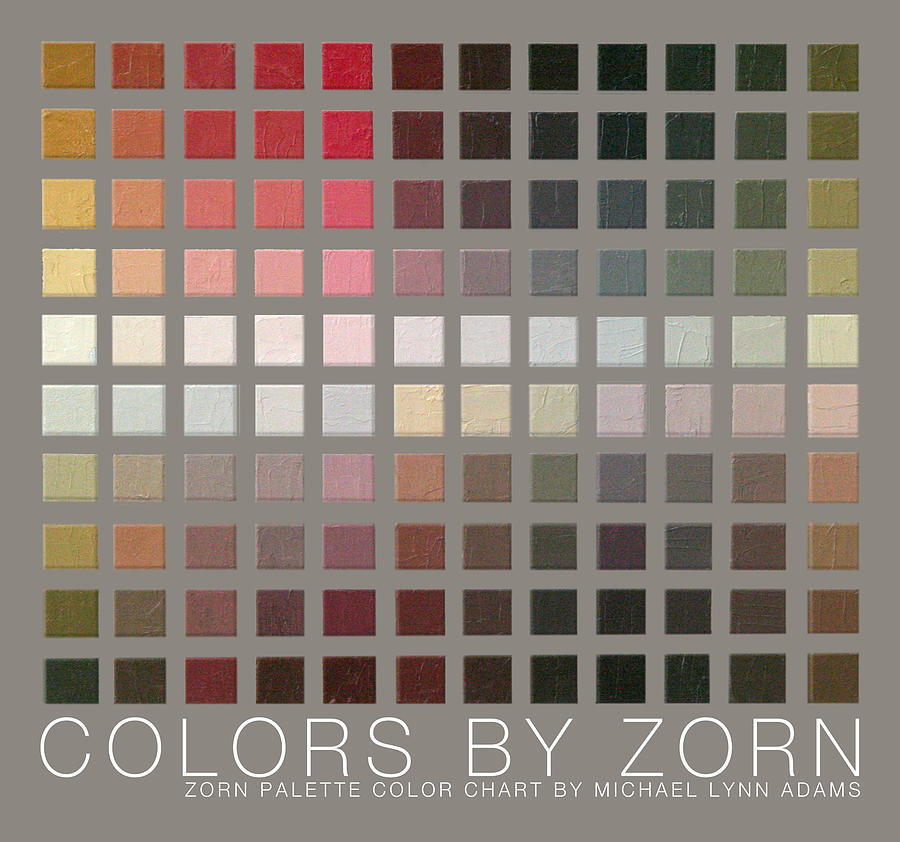 Colors Painting - Colors By Zorn by Michael Lynn Adams