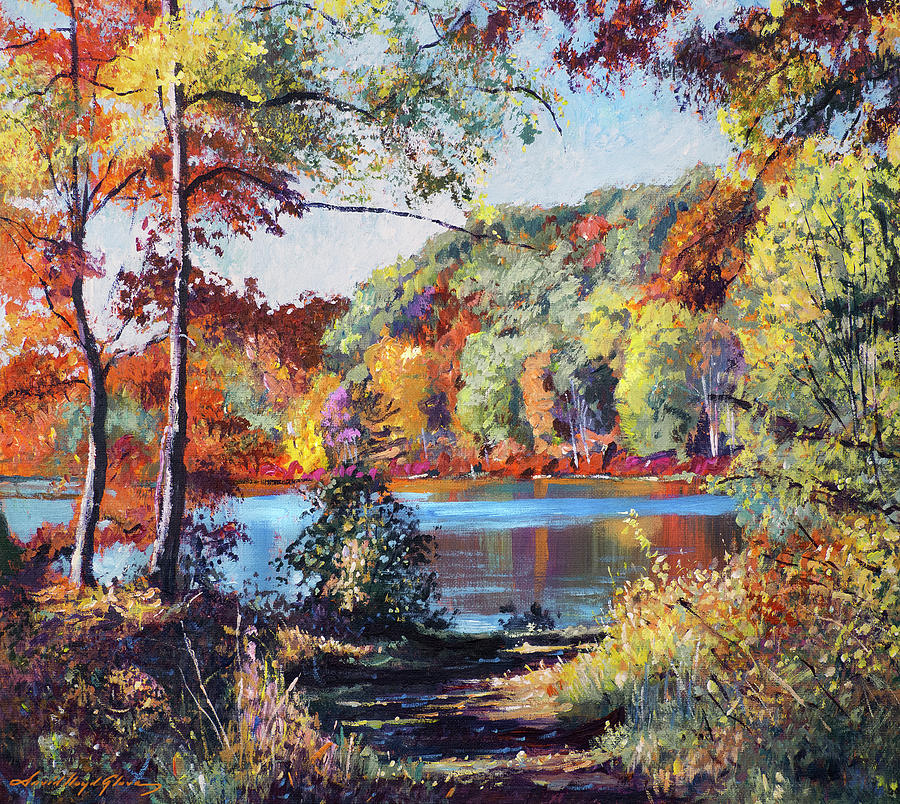 Colors On The Lake Painting