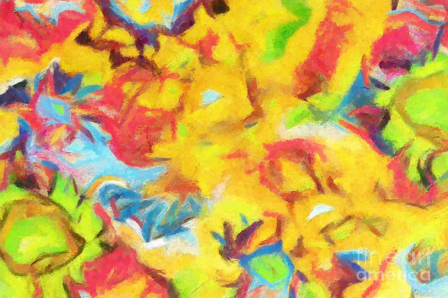 Complex Painting - Colors over Colors 2 by Stefano Senise
