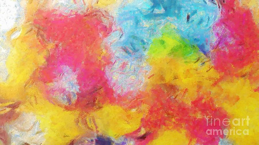 Complex Painting - Colors over Colors 3 by Stefano Senise