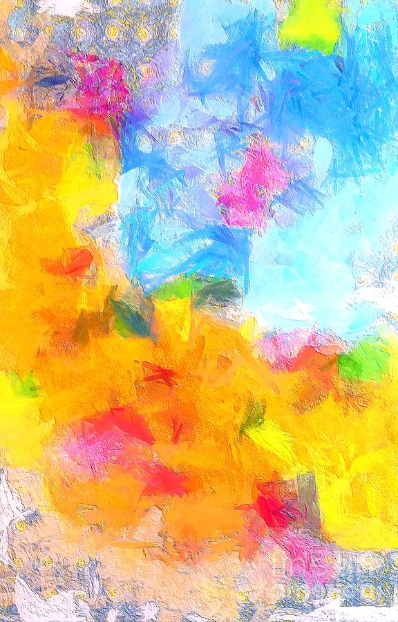 Complex Painting - Colors over Colors 4 by Stefano Senise