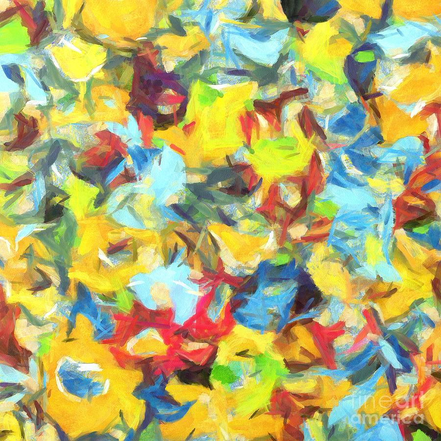 Complex Painting - Colors over Colors by Stefano Senise