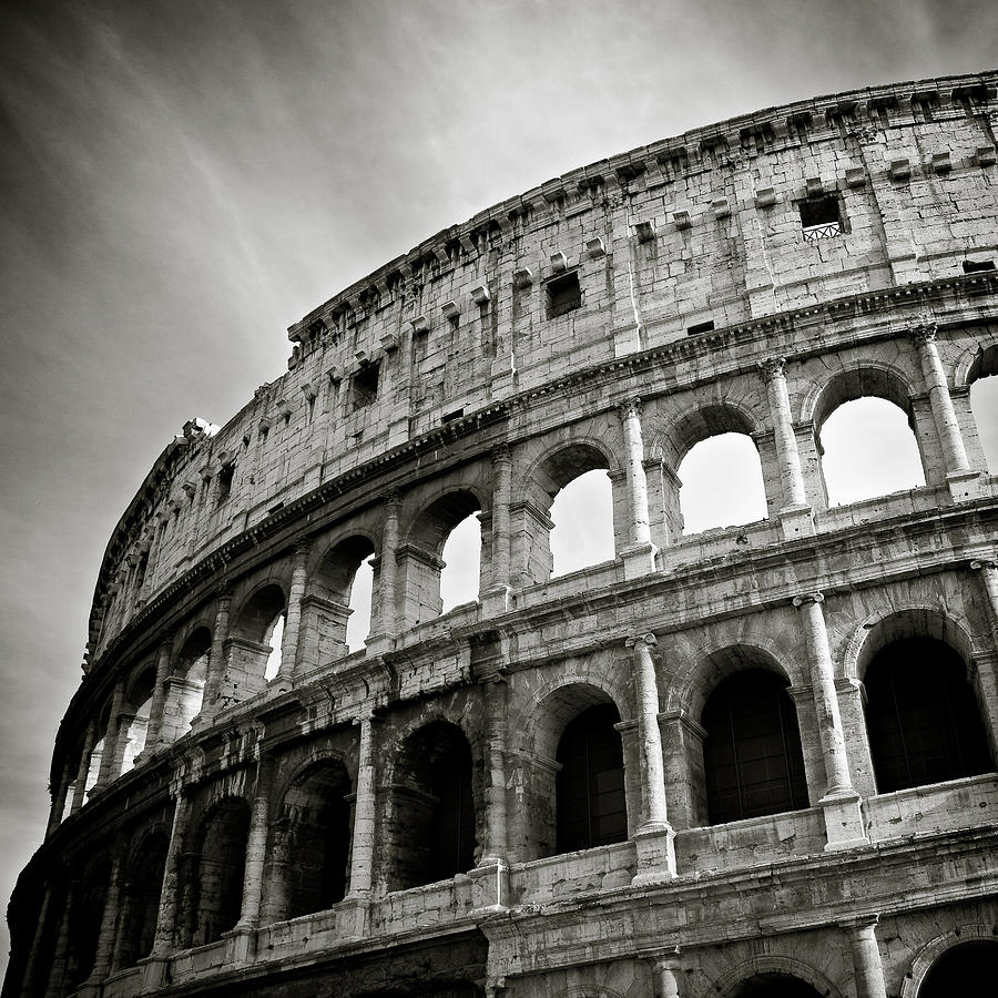 Colosseum Photograph - Colosseum by Dave Bowman
