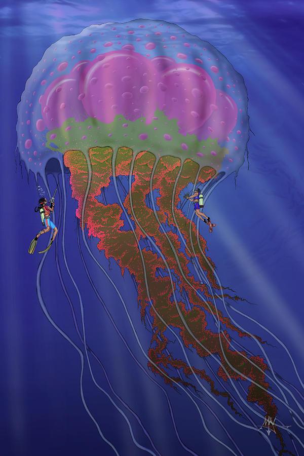 Colossus Digital Art - Colossus by Robert Fenwick May Jr