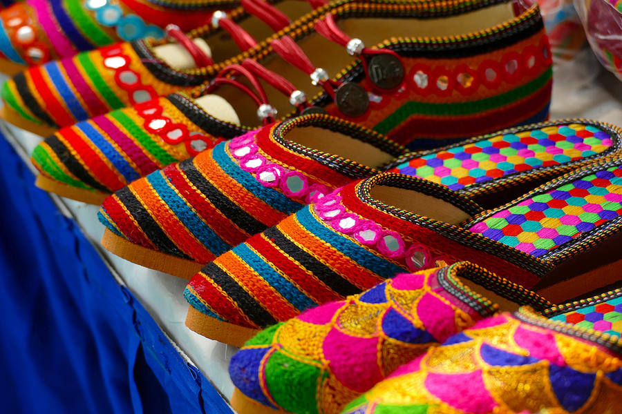 Colourful Handicraft Art, India Photograph by Anand Purohit
