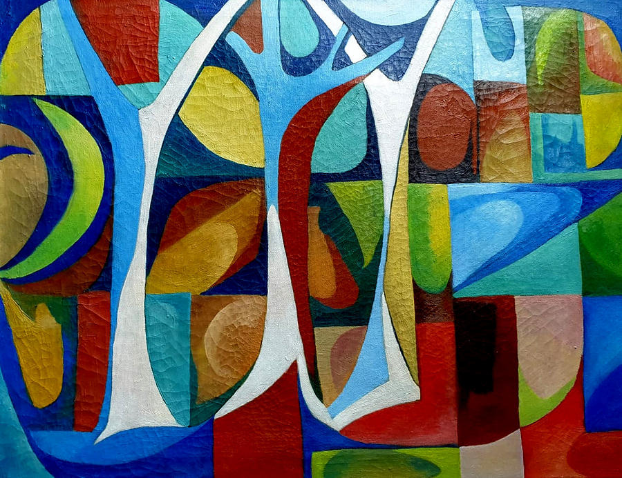 Abstract Painting - Colours  by Prerna Jain