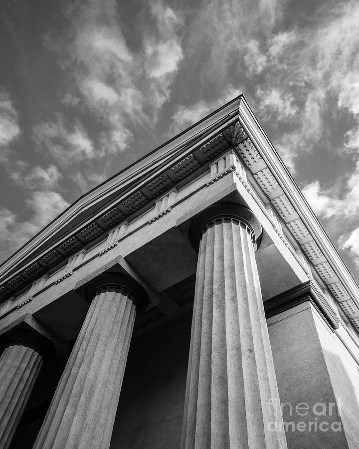 Columns Brown University by Edward Fielding