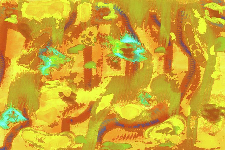 Combustion Digital Art