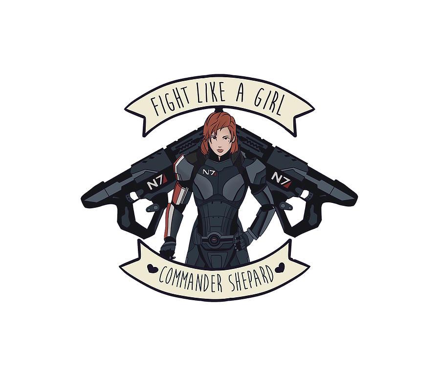 Commander Shepard Digital Art