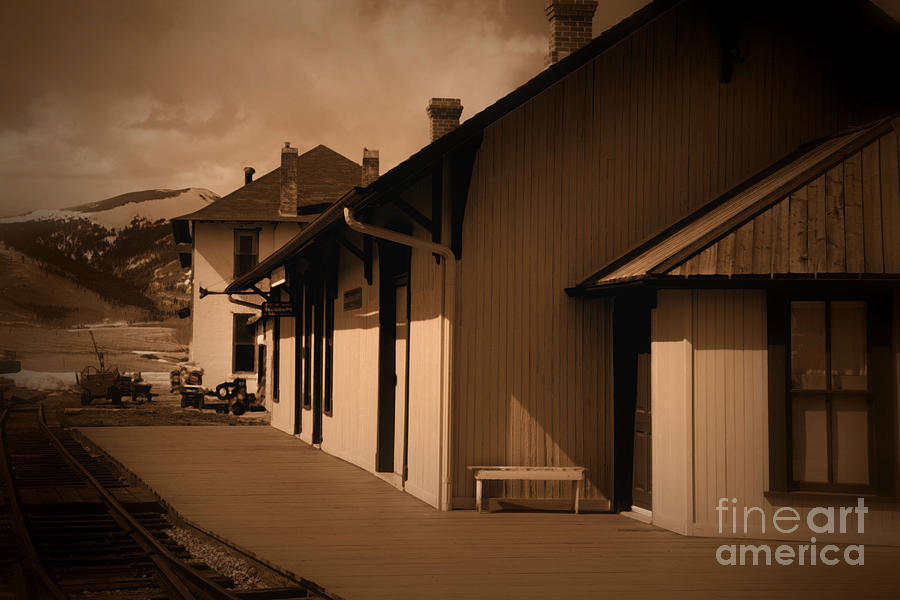 como colorado closeup of the depot and hotel photograph by jd smith fine art america