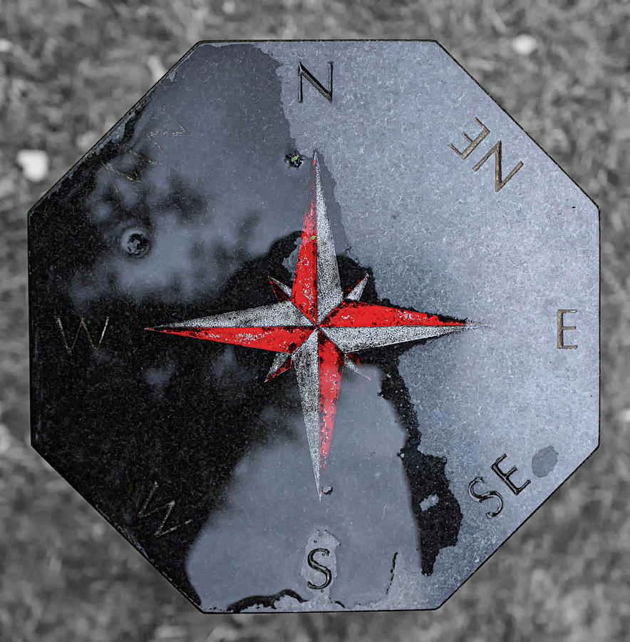 Compass Photograph