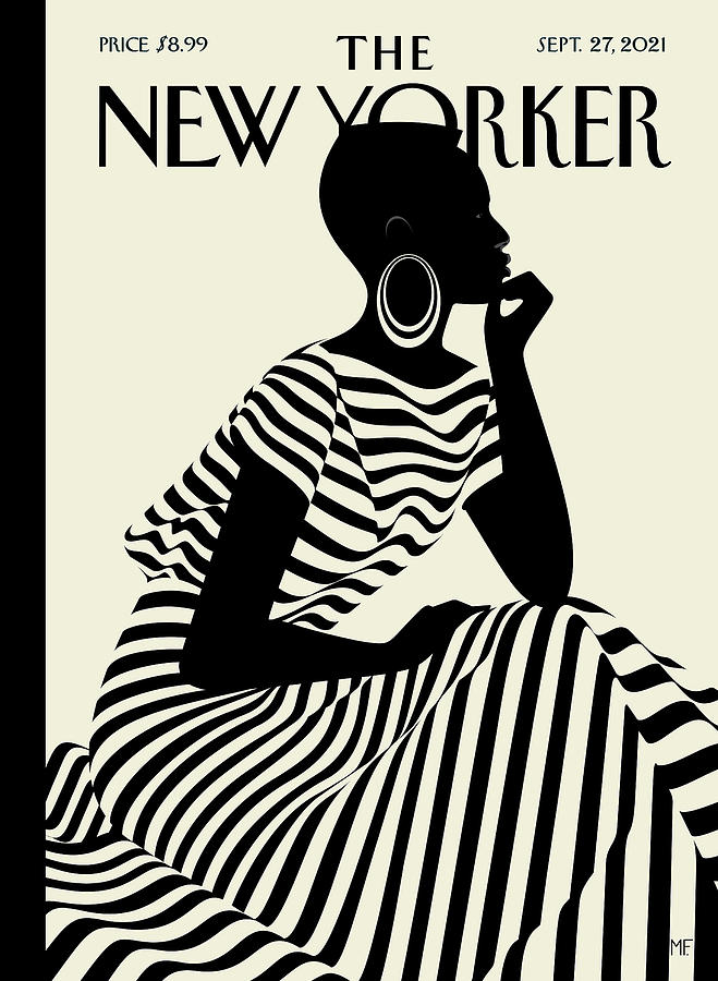 Fashion Digital Art - Composed by Malika Favre