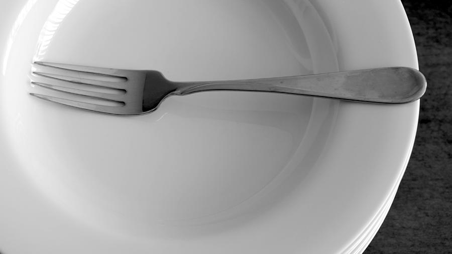 Composition With Fork Photograph
