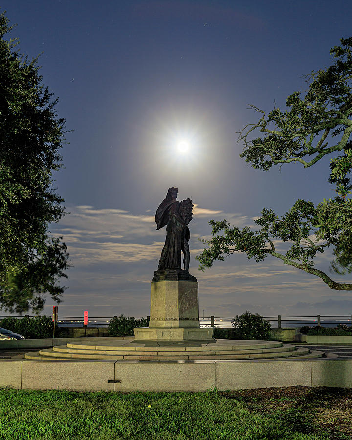 Confederate Photograph - Confederate Defenders Of Charleston By Moon Light by SC Shank