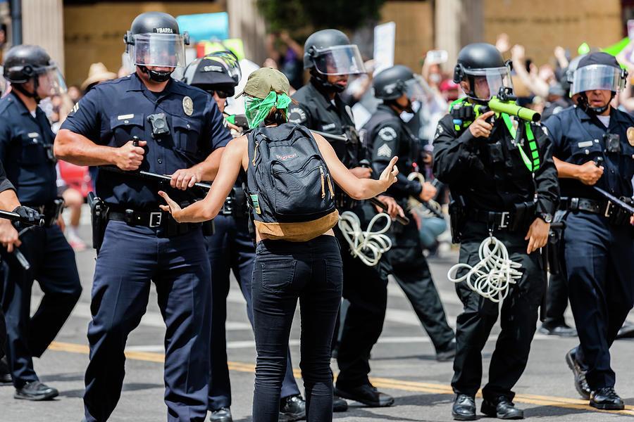 Confrontation Photograph