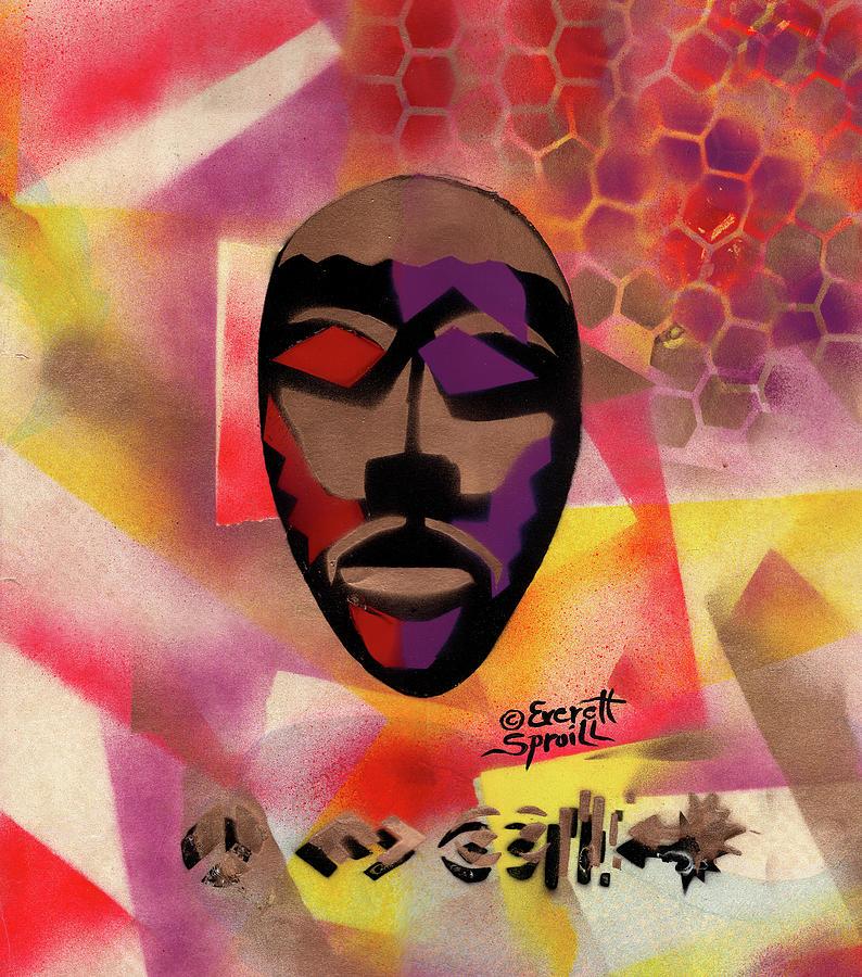 Congo Mask by Everett Spruill