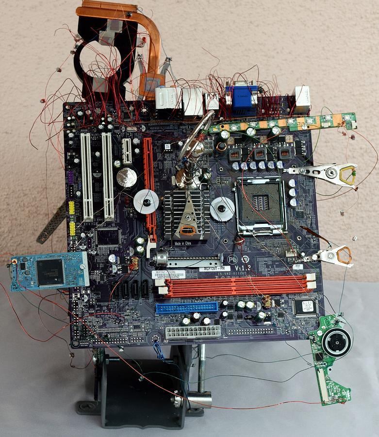Computer Mixed Media - Connected by Charla Van Vlack