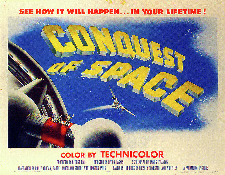 conquest Of Space Poster 1955 Mixed Media