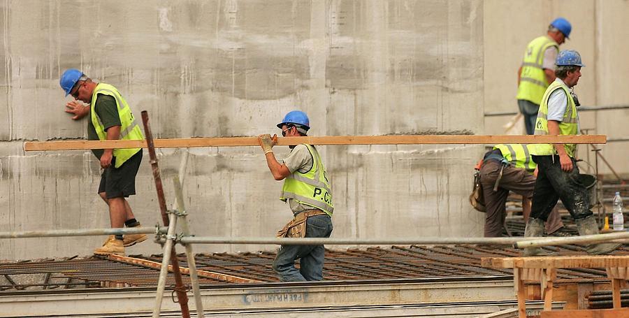 Construction Firm Multiplex Doubles Profits Photograph by Scott Barbour