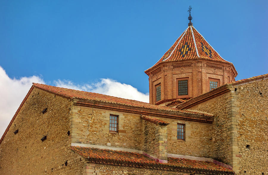 Teruel Photograph - Constructions In The Town Of Cantavieja, Teruel by Vicen Photography